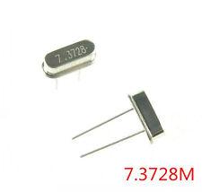 10Stk Neu 7.3728MHz  HC-49S Crystal Oscillator Quarzoszillator