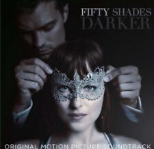 FIFTY SHADES DARKER CD - ORIGINAL MOTION PICTURE SOUNDTRACK (2017) NEW UNOPENED