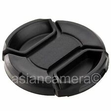 77mm Center Pinch Plastic Front Lens Cap Dust Cover New 77 mm Snap-on