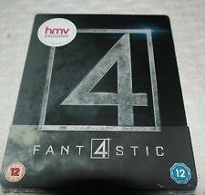 Fantastic four : fantastic 4 2015 UK Exclusive Limited Ed Steelbook Blu-ray NEW