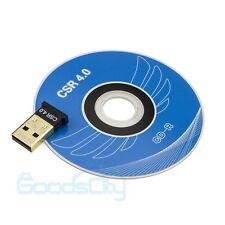 USB 2.0 Mini Bluetooth 4.0 CSR4.0 Adapter Dongle USB Bluetooth for Win 7 Vista