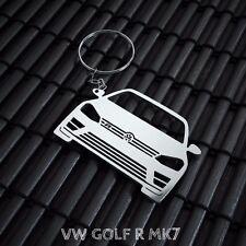 VW Golf MK7 R Stainless Steel Keychain