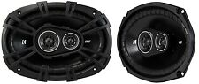 """Kicker 43DSC69304 6x9"""" 3-Way Coaxial Car Audio Speakers 90w RMS"""