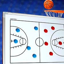 Taktiktafel für Basketball 60 x 45 cm mit Zubehör Neu Superspieler24