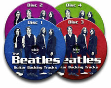 THE BEATLES STYLE ROCK POP GUITAR BACKING TRACKS COLLECTION AUDIO CD JAM TRACKS