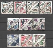 Monaco 1956 Yvert n° 453 et 472 neuf ** 1er choix