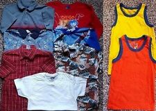 Lot of 9 Boy's Size 5/6 6 Clothes Shirts Gymboree, Spiderman, Children's Place +