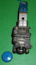 "A-T Controls - Cast CF8M (316L) Stainless Steel, 1/2""NPT Socket Weld, Ball Valve"