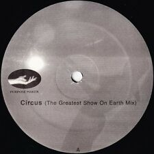"""JEFF MILLS - Circus - Axis Records Purpose Maker- Sealed 12"""" LP - DETROIT TECHNO"""