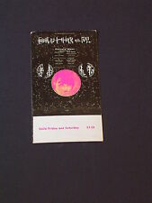 IRON BUTTERFLY & JOHNNY WINTER Psychedelic FILLMORE TICKET by ALTON KELLEY BG247