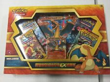 Pokemon Charizard EX Box Gift Set Promos And More For Card Game CCG TCG