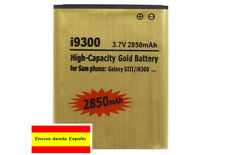 BATERIA GOLD BATTERY HIGH CAPACITY !! 2850mAh FOR SAMSUNG GALAXY S3 I9300
