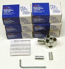 "BPV31 6PACK Supco Bullet Piercing Valve Copper Tubing for 1/4"", 5/16"" and 3/8"""
