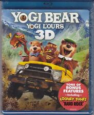 Yogi the Bear 3D/2D Blu ray. Tons of Bonus features Looney Tunes Rabid Rider