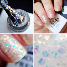 10ml Born Pretty UV Gel Nail Polish LED Soak Off Gel Varnish Glitter White