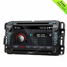 In Dash Navigation GPS DVD CD Radio Car Stereo Unit Navi Bose For GMC BT MP3 I