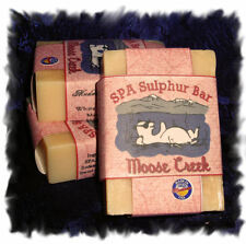 Flowering Meadow Moose Creek SPA Sulphur Mineral Soaps Made in Montana_Handmade