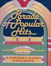 PARADE OF POPULAR HITS - Reader's Digest Songbook (with Lyric Book)