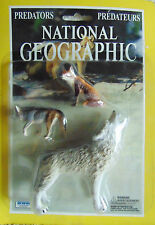 National Geographic Predators, Grey Wolf - Action Figures - Irwin - New
