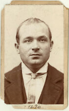 Photo Bertillon identification Policière Police Mug Shot Usa 1877