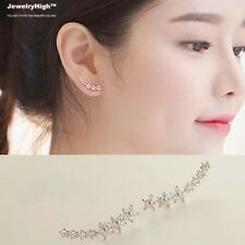 Silver Filled Crawler Climber Ear Cuff Star Earrings Jewellery Online for Women