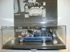 MINICHAMPS :THE KENNEDY CAR : 1963 LINCOLN PRESIDENTIAL PARADE VEHICLE