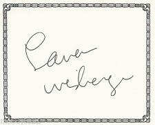 LAUREN WEISBERGER, author, AUTHENTIC HAND SIGNED BOOKPLATE