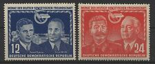 DDR MiNr. 296-297 (Dt.-Sowjetische Freundschaft) kpl. postfrisch