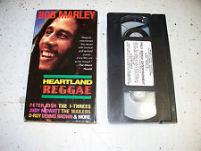 Bob Marley Heartland Reggae VHS Video Out of Print