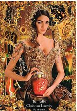 Publicité Advertising 2005 Parfum Tumulte par Christian Lacroix