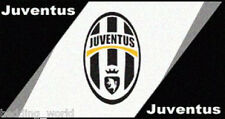 RUG JUVENTUS CREST PRINTED BEDROOM FLOOR MAT BLACK WHITE FOOTBALL CLUB TEAM