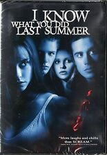 I Know What You Did Last Summer (DVD, 1998, Closed Caption; Subtitled French...