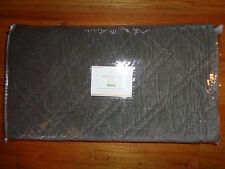 Pottery Barn WASHED VELVET SILK QUILT  -FULL/QUEEN-FLAGSTONE-NEW W/ TAGS