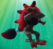 "12"" Pokemon Zorua Zoroark Cartoon Anime Plush Toy Stuffed Doll collect"