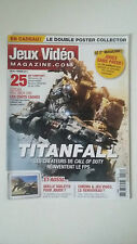 JEUX VIDEO MAGAZINE N°157 - Février 2014 - TITANFALL XBOX ONE PS4