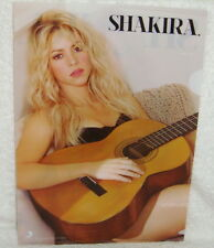 SHAKIRA s/t 2014 Taiwan Promo Folder (ClearFile) CAN'T REMEMBER TO FORGET YOU