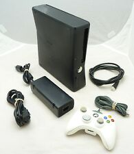Microsoft Xbox 360 S 4 GB Matte Black Console Video Gaming System