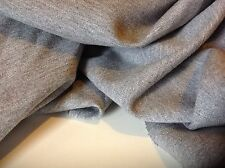 "NEW Grey Colour Designer cotton Double Knit Stretch Jersey Fabric 61""153cm Tommy"