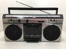 General Electric GE Boombox VTG Tape Cassette Radio Portable 3-5451B