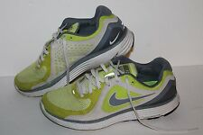 Nike Lunarswift + Running Shoes, #386370-301, Lime/Grey, Womens US Size 8