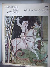 Gothic Frescoes - Lombardi - Colour Plates 1966 - Colour Masters Series No. 225