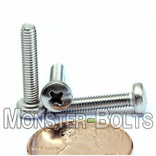 M3 x 16mm - Qty 10 - Stainless Steel Phillips Pan Head Machine Screws DIN 7985 A