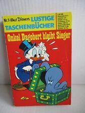 WALT DISNEY Lustige Taschenbücher LTB Nr. 5 Onkel Dagobert bleibt Sieger 4,20 DM