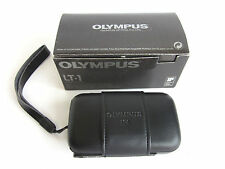 OLYMPUS LT-1 Point & Shoot Black COMPACT CAMERA 35mm F/3.5 PRIME LENS Snap Cover