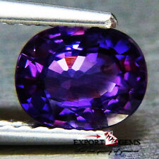 """AIGS CERFITIED NATURAL UNHEATED"" 1.23CT BEAUTIFUL PURPLE SAPPHIRE"