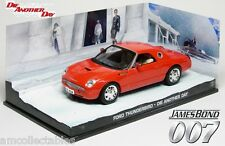 JAMES BOND 007 DIE ANOTHER DAY - FORD THUNDERBIRD - 1:43 DIECAST MODELL NEU/OVP