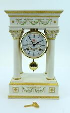 Empress Josephine Clock Franklin Mint 8 Day Bell Works Hermle Movement French