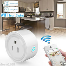 WiFi Smart Socket Phone Remote Control Timer Switch Power Socket Outlet US Plug