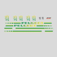 Peugeot Tandem Bicycle Frame Stickers - Decals - Transfers - n.29