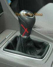 FITS AUDI A4 2001 2002 2003 2004 BLACK GENUINE LEATHER SHIFT BOOT BRAND NEW